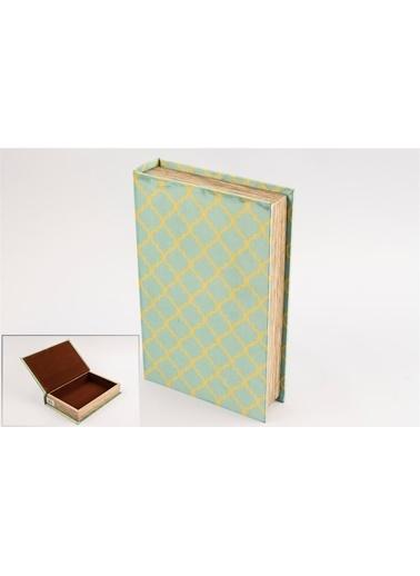 Mikasa Moor Mint Kitap Şek Kumaş Kutu 26x17cm Renkli